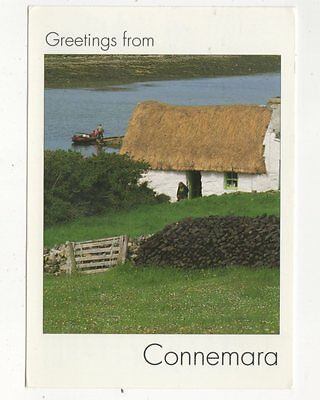 Greetings From Connemara Ireland Postcard 421a