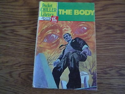 Pocket Chiller Library No 1. The Body.. Published 1970s
