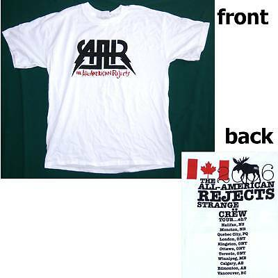 All American Rejects! Strange Crew Can Tour Shirt Medium New