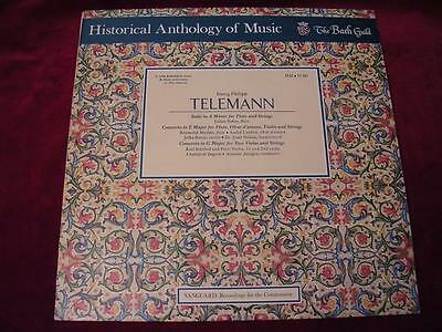 TELEMANN - Historical Anthology of Music Bach Guild HM 17SD - 1972 -Julius Baker