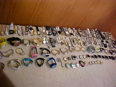 HUGE  LOT OF WATCHES - OVER 9 1/2 POUNDS RESALE repair crafts