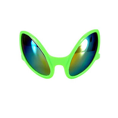 Alien Close Encounter Green Costume Eye Glasses Adult Halloween  Accessory