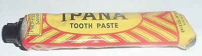 Ipana Advertising Professsional Sample Tooth Paste Tube