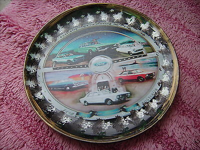 Ford Australia 90Th          On A Decoupage  Plate