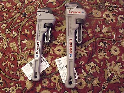 New ALUMINUM Pipe Wrenches  ( 2 )