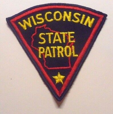 Wisconsin State Patrol Patch Unused