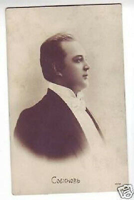 SOBINOV Russian OPERA Singer TENOR Vintage PHOTO PC bu