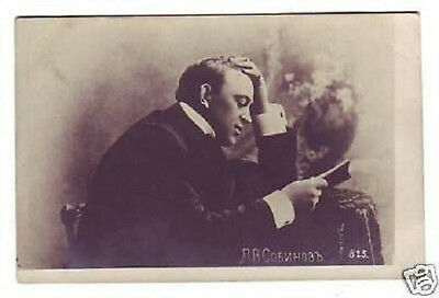 SOBINOV Russian OPERA Singer TENOR Vintage PHOTO PC br