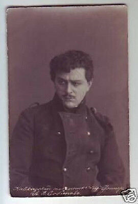 SOBINOV Russian OPERA Singer TENOR Vintage PHOTO PC yy