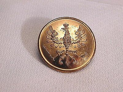 Prussian Eagle Collar Button - Wwi Or Earlier   (B27)