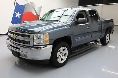 2012 Chevrolet Silverado 1500 LS Crew Cab Pickup 4-Door 2012 CHEVY SILVERADO CREW 6PASS BEDLINER SIDE STEPS 67K #232160 Texas Direct