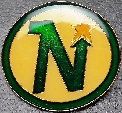 Vintage 1980s Minnesota North Stars Collectible Pin - NHL Officially Licensed