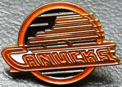 Vintage 1980s Vancouver Canucks Collectible Pin - NHL Officially Licensed