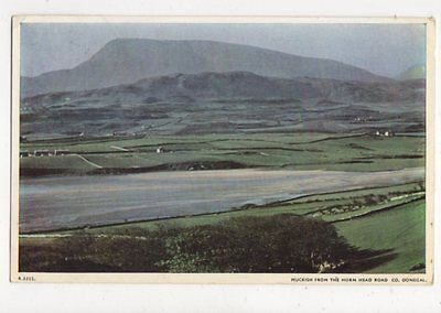 Muckish From The Horn Head Road Co Donegal Ireland 1956 Postcard 422a