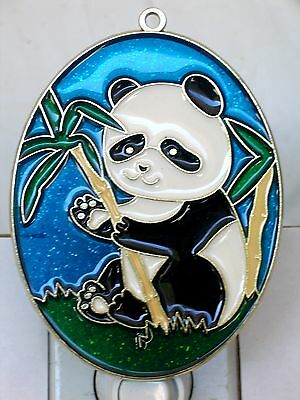 """Stained Glass Style """" Panda""""  Night Light-Great Gift For All Occasions!"""