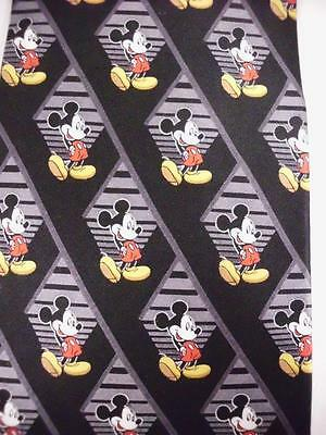 Disney Mickey Unlimited  Mickey Mouse Novelty Neck Tie100% Silk Film Strip