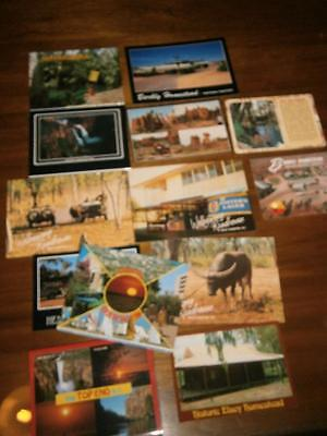 x 13 Assorted  Vintage Northern Territory Post Cards POSTCARDS N.T