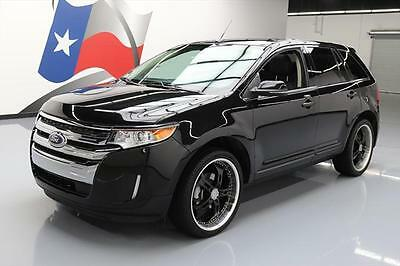 2013 Ford Edge Limited Sport Utility 4-Door 2013 FORD EDGE LTD VISTA ROOF NAV HTD LEATHER 22'S 74K #C49105 Texas Direct Auto