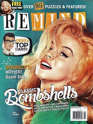 REMIND Mag - ANN-MARGRET, MARILYN MONROE, BUNNY YEAGER, BLONDE BOMBSHELLS