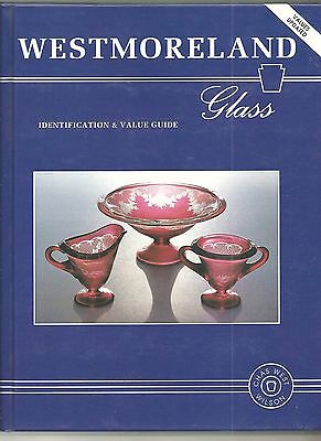 Hc Westmoreland Glass Identification & Value Guide Book 1998