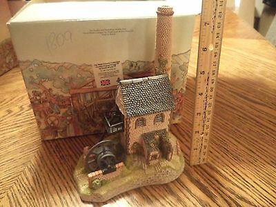 Cornish Engine House 1987 West Country David Winter Collections w/ Org Box