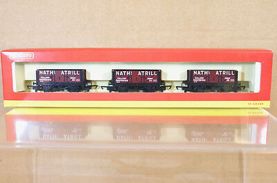 HORNBY R6115 BR NATHANIEL ATRILL CHESTERFIELD 5 PLANK LASTER SET UNGEBRAUCHT ni