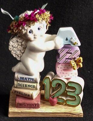 Dreamsicles Building An Education 11946 Kristin Signed Figurine