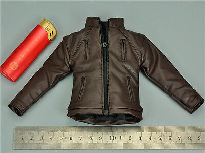 1/6 Scale Leather Jacket for VTS Toys VM-017 The Darkzone Agent