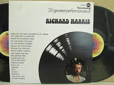 Richard Harris- 20 Greatest Performances 2-LP (The Best of/Hits) Harry Potter