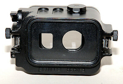 patima custodia in alluminio  per GoPro hero 3-3+ e 4