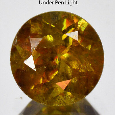0.64 Cts Amazing Unheated Color Change Natural Sphene Gemstones