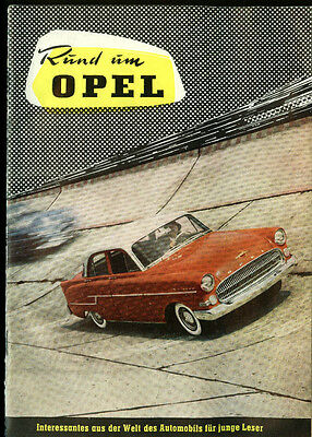 Rund um Opel: German brochure for Young Readers 1956 Soapbox Derby