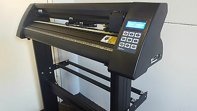 New Jet Black Refine Eh721 Vinyl Cutter Plotter Sign Writing Machine