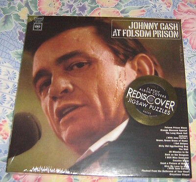 Johnny Cash  Double Sided 300 Piece Colour  Jigsaw New Sealed