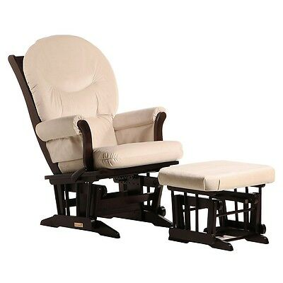 Dutailier Ultramotion- Sleigh Glider Multiposition,Recline and Ottoman Combo- Es