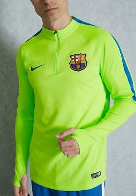 Drill Top Barcelona Nike Training Sweatshirt Felpa Green 2016 17