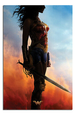 Wonder Woman Sword Teaser Poster New - Maxi Size 36 x 24 Inch