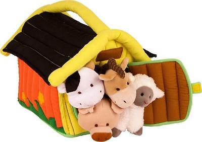 Childrens Soft Play Farm with Seperate Farm Animals Pre School Bright Colours