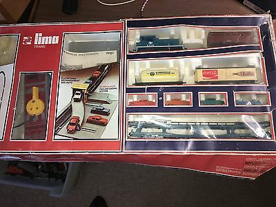LIMA 7109A Vintage MotorRail Car Unloading System TrainSet - Boxed