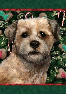 Large Indoor/Outdoor Holiday Flag - Border Terrier 14122