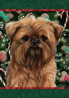 Large Indoor/Outdoor Holiday Flag - Brussels Griffon 14128