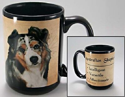 15 oz. Faithful Friends Mug - Australian Shepherd MFF010 IN STOCK