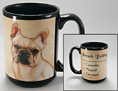 15 oz. Faithful Friends Mug - French Bulldog MFF078 IN STOCK