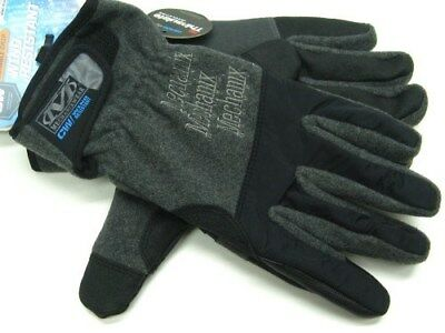 MECHANIX WEAR Large L Black WIND RESISTANT Cold Weather Work Gloves! MCW-WR-010