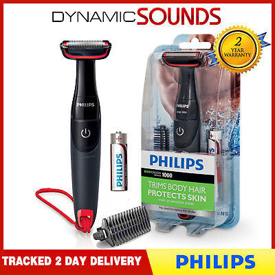 Philips BG105 Bodygroom Series 1000 Battery Cordless Body Hair Shaver Trimmer