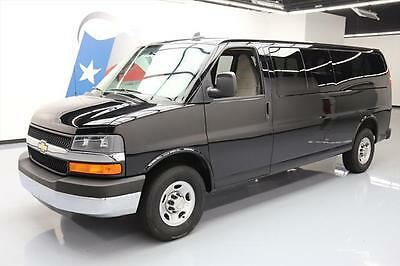 2016 Chevrolet Express  2016 CHEVY EXPRESS LT 3500 3DR 15-PASS EXT PASS VAN 16K #160336 Texas Direct