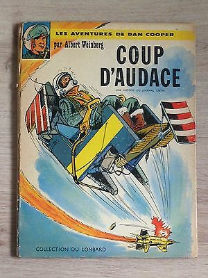 Dan Cooper N°6 Coup d'audace EO 1963 / Lombard Intérieur comme neuf+Point Tintin