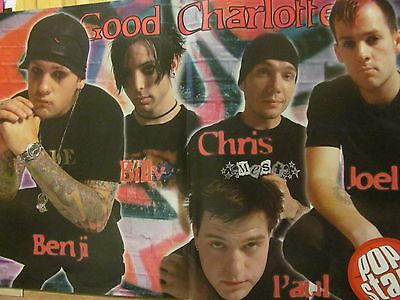 Good Charlotte, Jump, Double Two Page Centerfold Poster