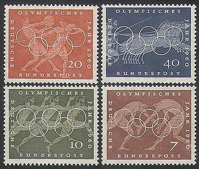 Germany 1960 Olympics/Sports/Olympic Games/Horses/Athletes/Wrestling 4v (n35406)