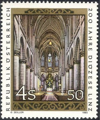 Austria 1985 Linz Diocese 20th Anniv/Cathedral/Buildings/Religion 1v (n44446)